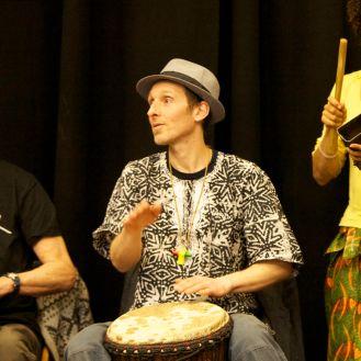 Shumba drumming